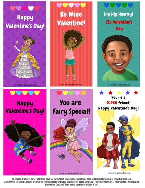 african-american valentine's day cards