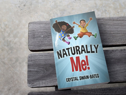 Naturally Me - Black children's book - Brown Girls Club - 1
