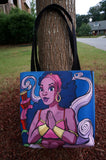 """Genie out the Bottle"" Tote Bag - Brown Girls Club - 3"