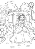 Black Fairy Tales: A Coloring & Activity Book - Black children's book - Brown Girls Club - 4