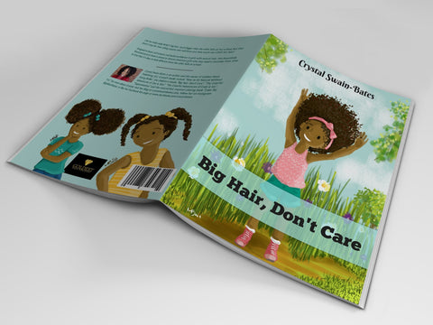 Big Hair, Don't Care - Bestselling Black children's book - Brown Girls Club - 1