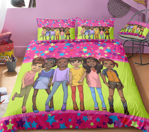 The Brown Girls Club Bed Set