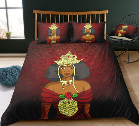 'Always Wear Your Crown' Bed Set