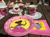 """I'm a Pretty Black Princess"" Deluxe Party Set for a black princess party! - Brown Girls Club - 4"