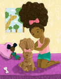 Big Hair, Don't Care - Bestselling Black children's book - Brown Girls Club - 3