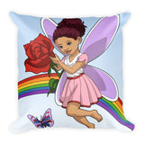 Butterfly Brown Girl Pillow - Brown Girls Club - 2
