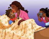 Supermommy - Black children's book - Brown Girls Club - 2