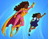 Supermommy - Black children's book - Brown Girls Club - 3