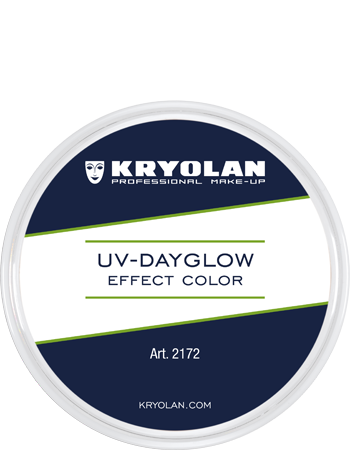 Kryolan, UV-Dayglow Effect Color, 15ml, Yellow