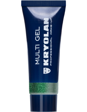 Kryolan, Multi Gel Glitter, Green