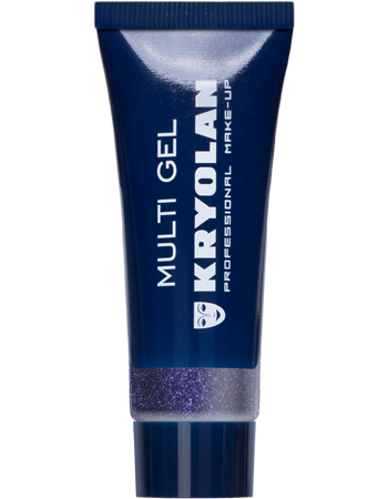 Kryolan, Mutli Gel Glitter, Purple