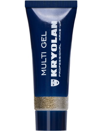 Kryolan, Multi Gel Glitter, Gold