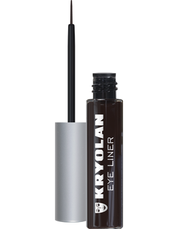 Kryolan, Eye Liner, Black-Brown