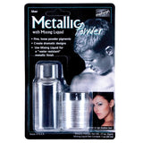 Mehron, Metallic Powder & Liquid, Silver