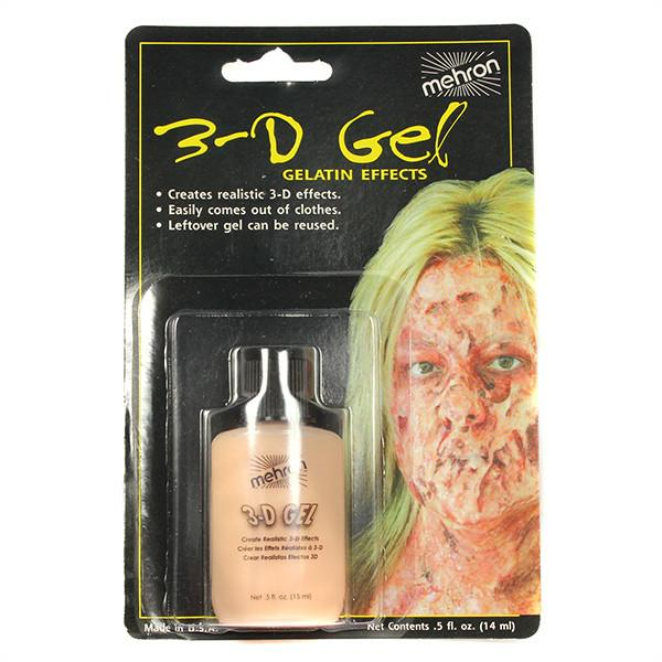 Mehron 3-D Gel, Flesh 0.5oz