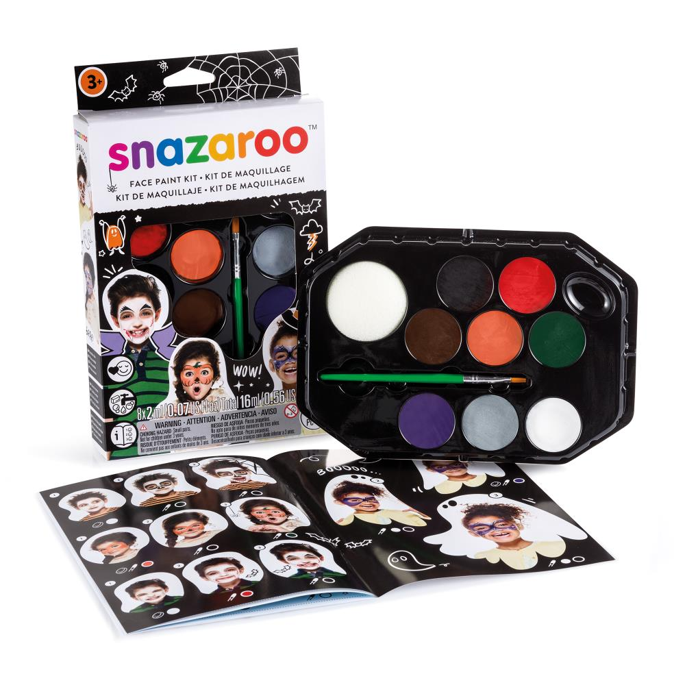 Snazaroo Halloween Face Paint Kit
