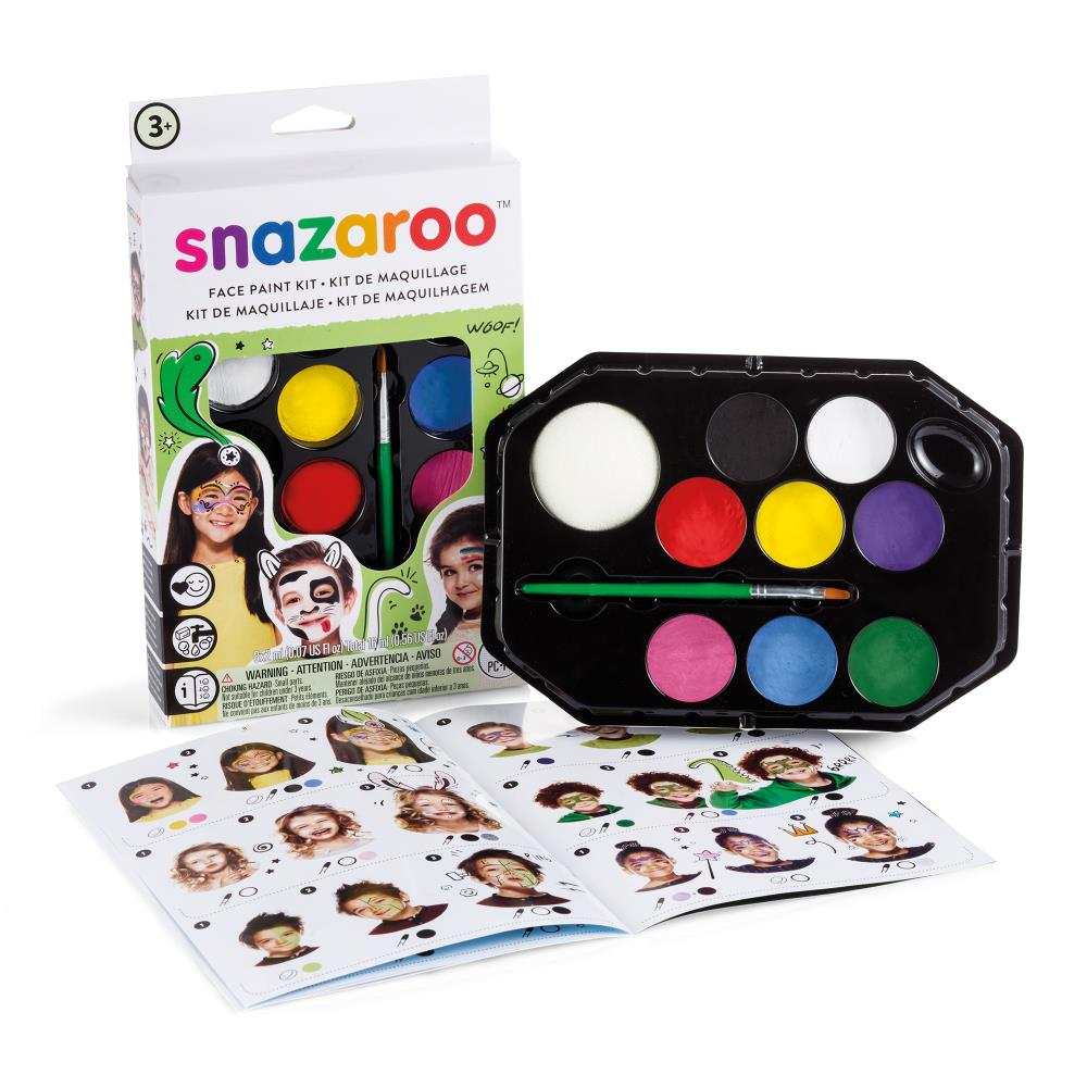Snazaroo Rainbow Face Paint Kit