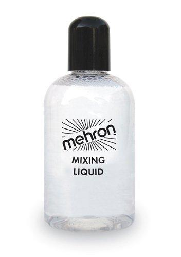 Mehron Metallic Powder, Mix Liquid