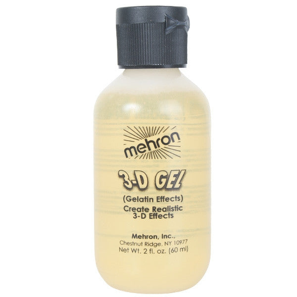 Mehron 3-D Gel, Clear 2oz