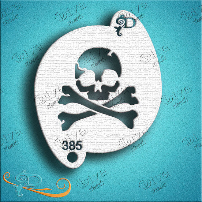 Diva Mini, Pirate Skull & Crossbones
