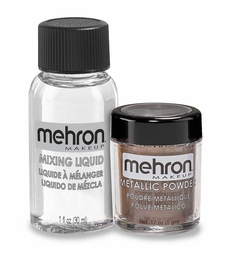 Mehron, Metallic Powder & Liquid, Bronze