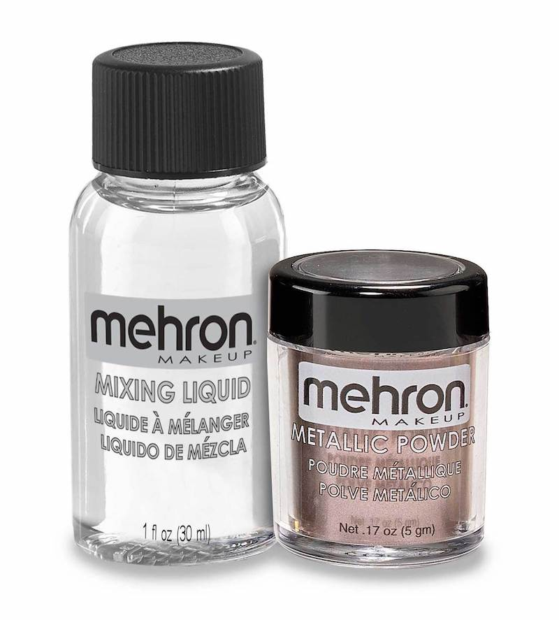 Mehron, Metallic Powder & Liquid, Lavender