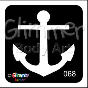 Glimmer body art, Anchor (68)