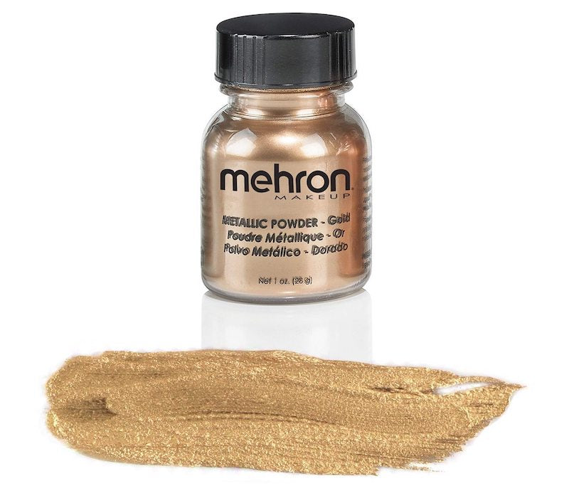 Mehron, Metallic Powder, Gold