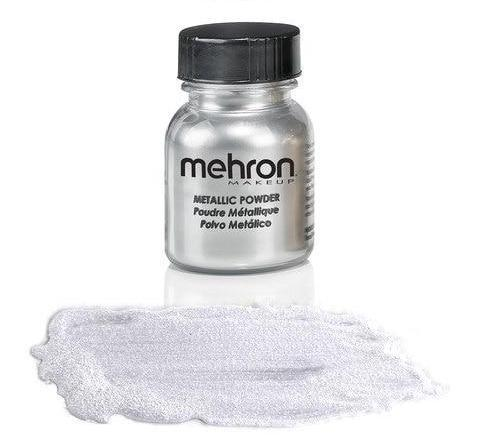 Mehron, Metallic Powder, Silver