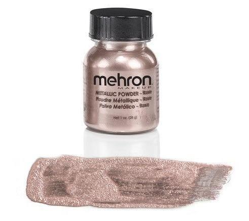 Mehron, Metallic Powder, Rose Gold