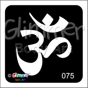 Glimmer body art, Ohm (075)