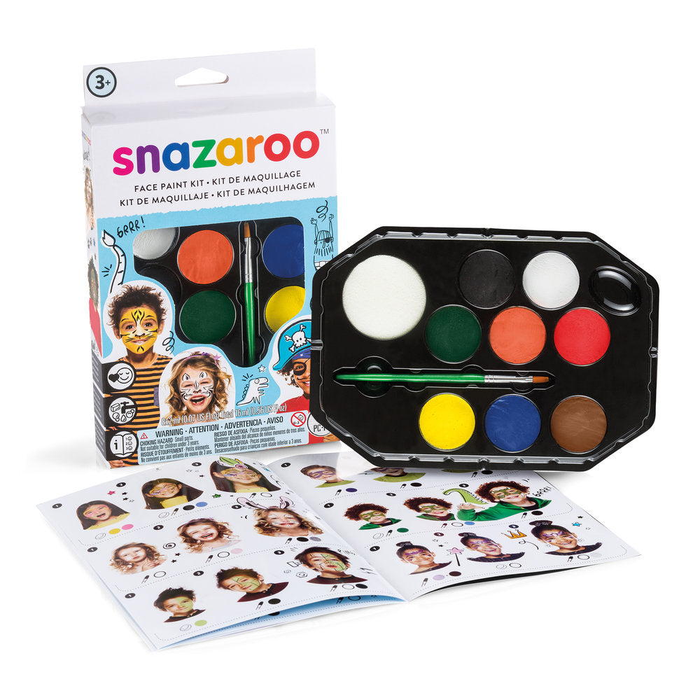 Snazaroo Adventure Face Paint Kit