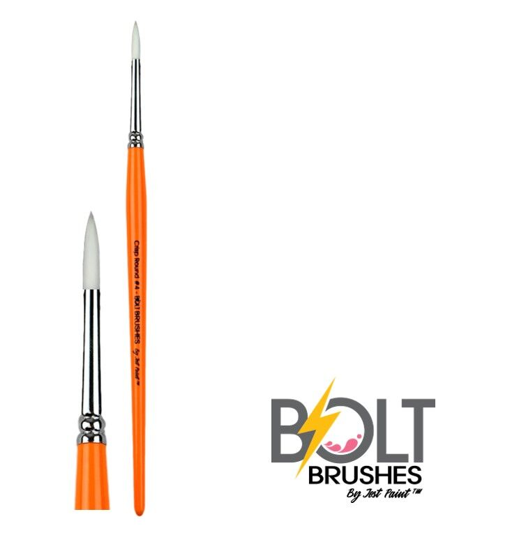 Bolt Crisp Round Brush No.4