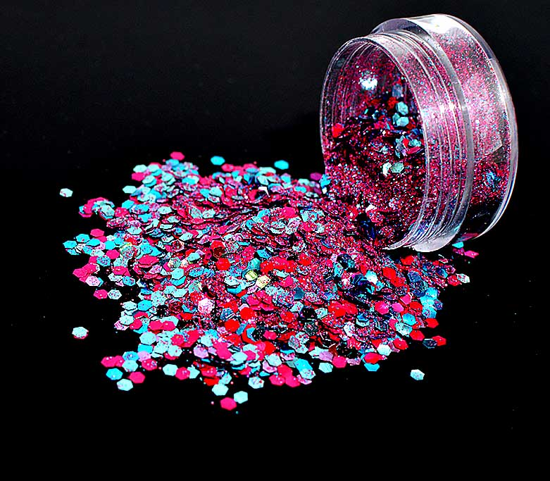 Bio Glitter, Blends, Unicorn, 5g