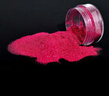 Bio Glitter, Ultra Fine, Dark Rose, 5g