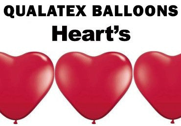 Qualatex Modelling Balloons (Hearts)