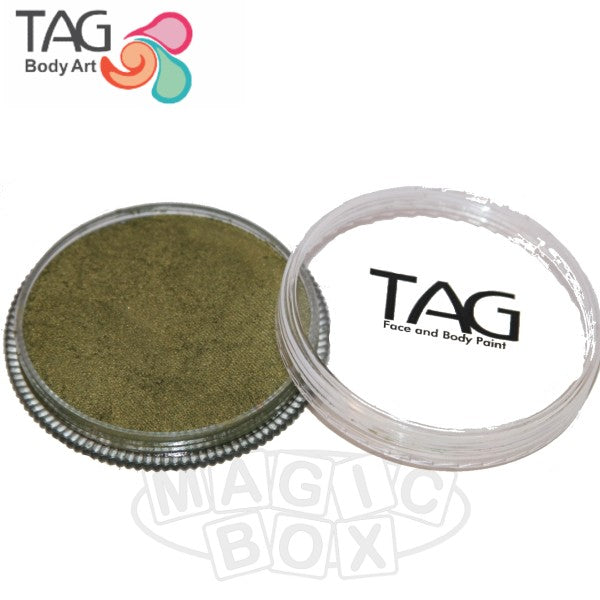 Tag, 32g Bronze Green