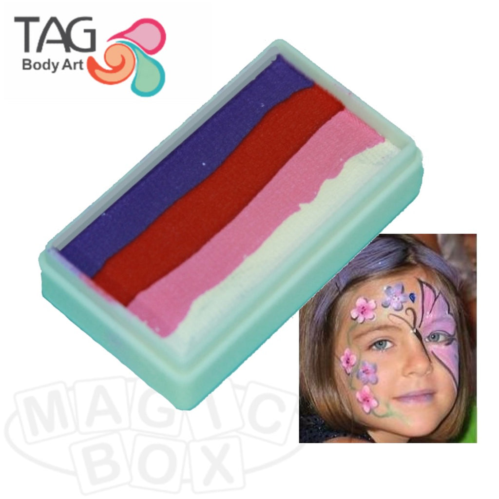 Tag, 1 Stroke Split Cake, Berry