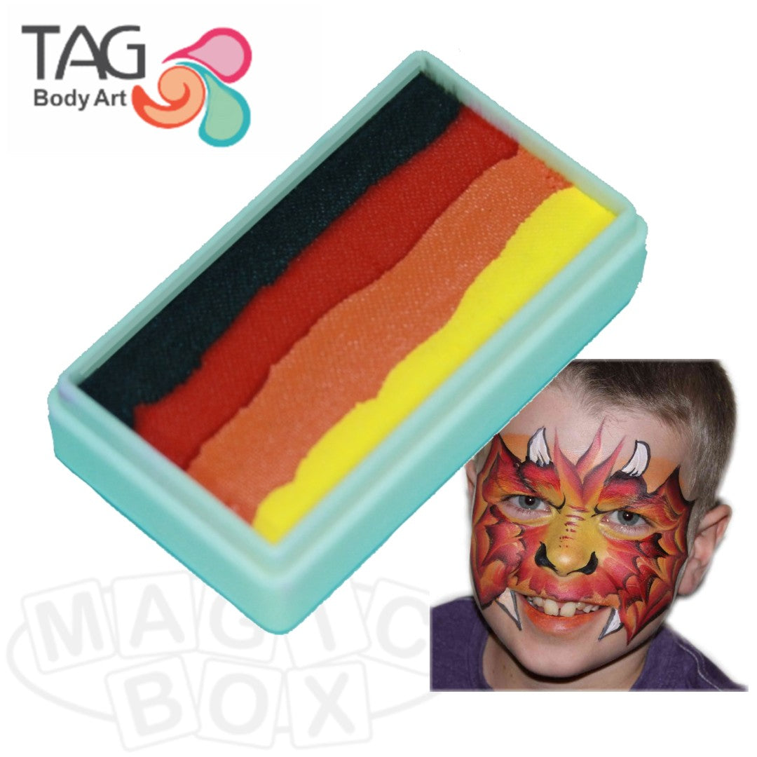 Tag, 1 Stroke Split Cake, Dragon