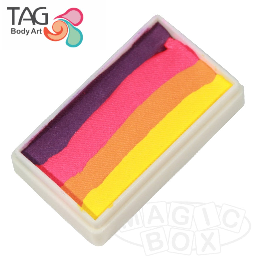 Tag, Neon 1 Stroke Split Cake, Summer Nights