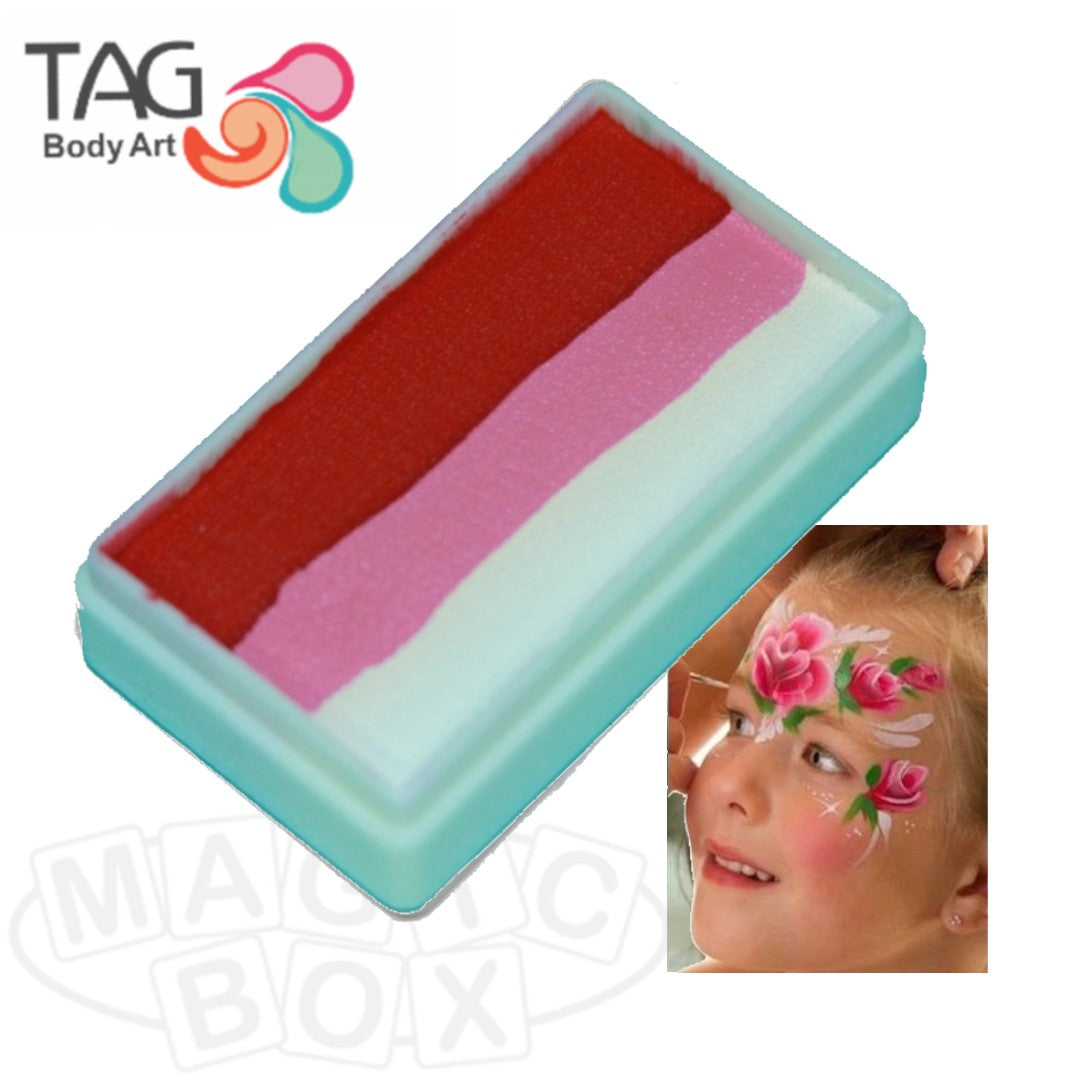 Tag, 1 Stroke Split Cake, Rose