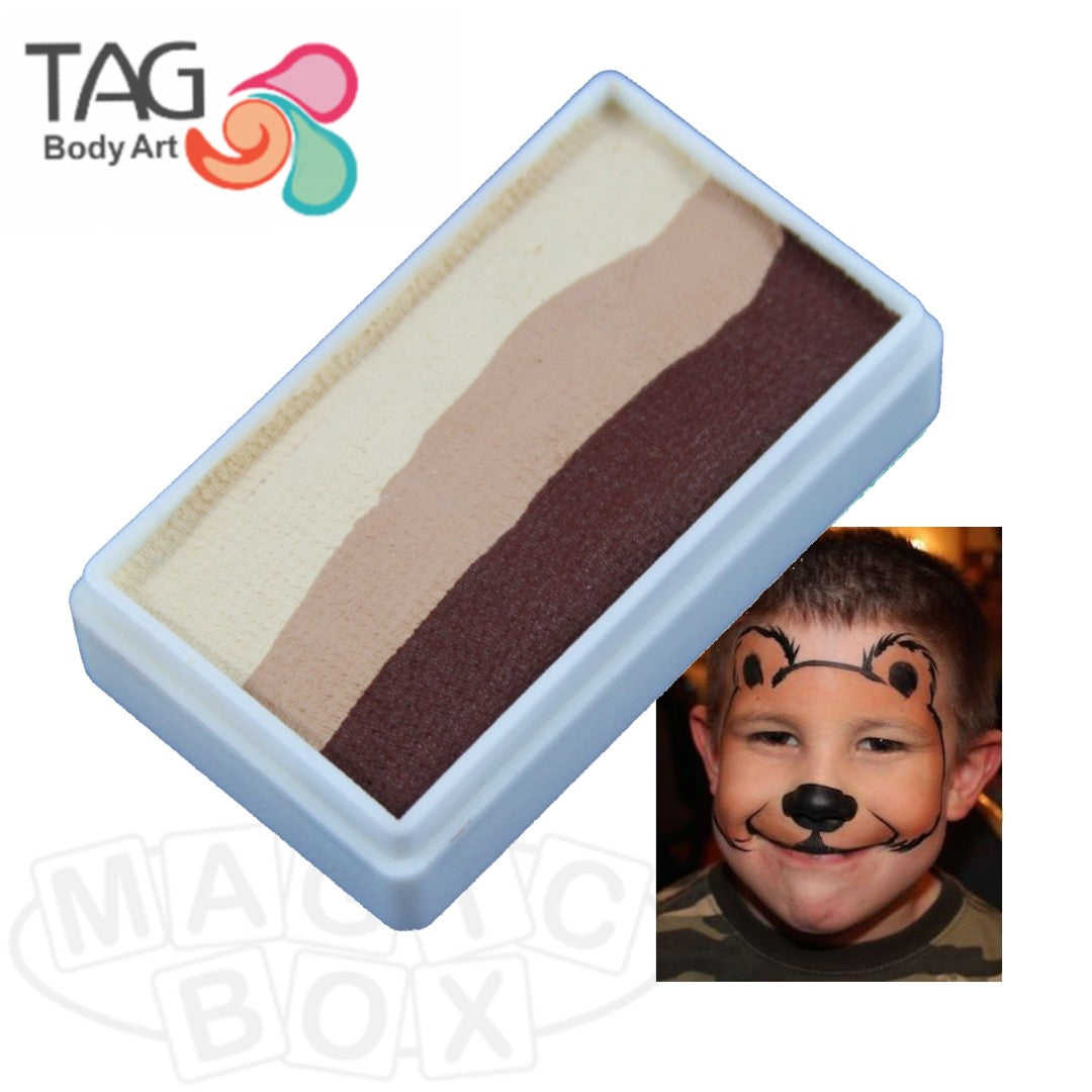 Tag, 1 Stroke Split Cake, Teddy Bear