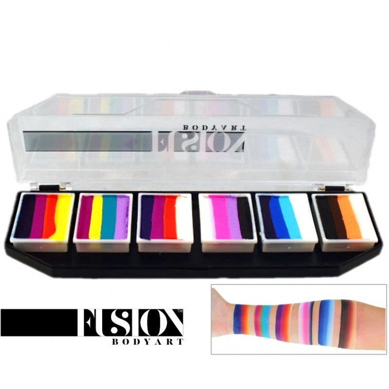 Fusion Palette, Rainbow Splash