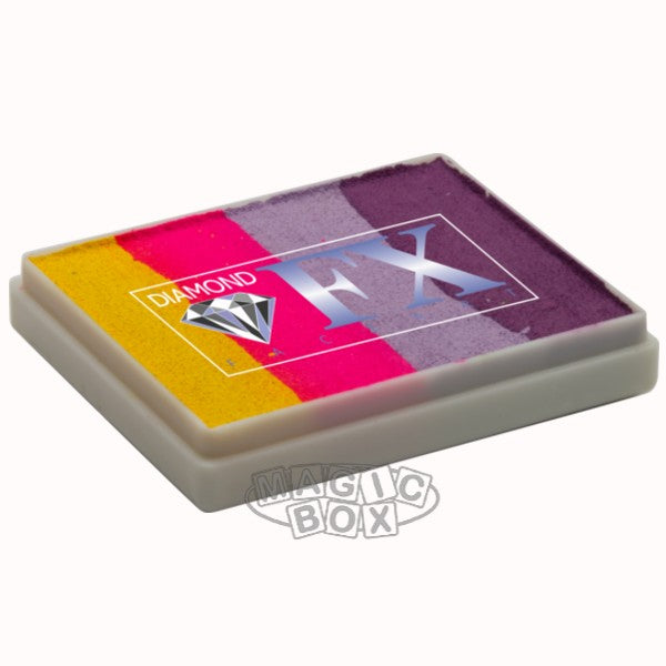 Dfx Neon Split Blend Cake, Flower Heather