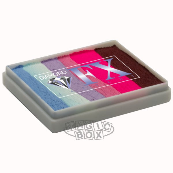 Dfx Neon Split Blend Cake, Party Butterfly