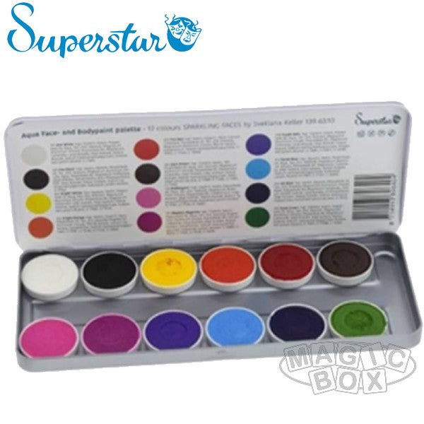 Superstar Palette, Sparkling Faces