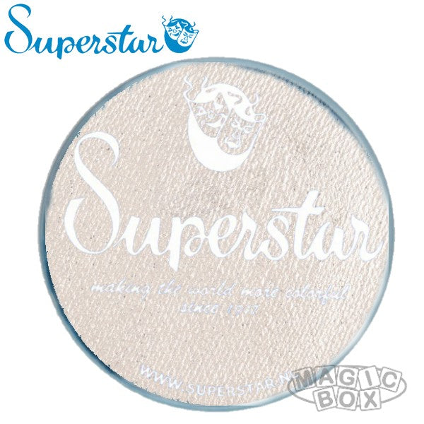 Superstar 45g, Shimmer Silver White with Glitter