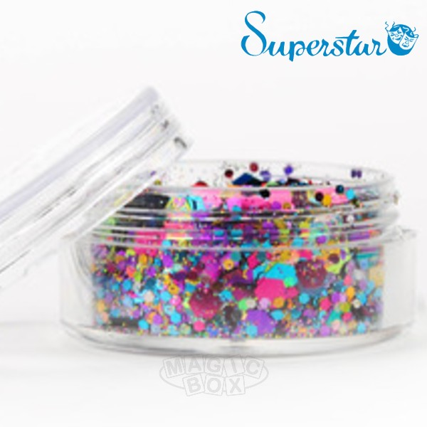 Chunky Mix Glitter, Waste