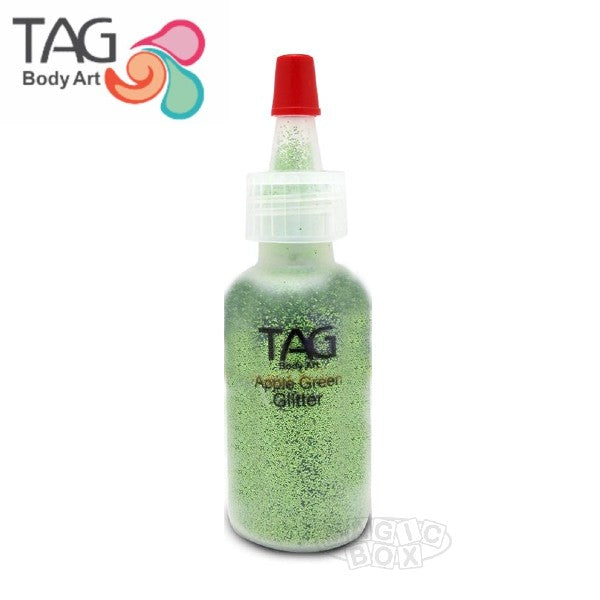Tag Glitter, 15ml Apple Green