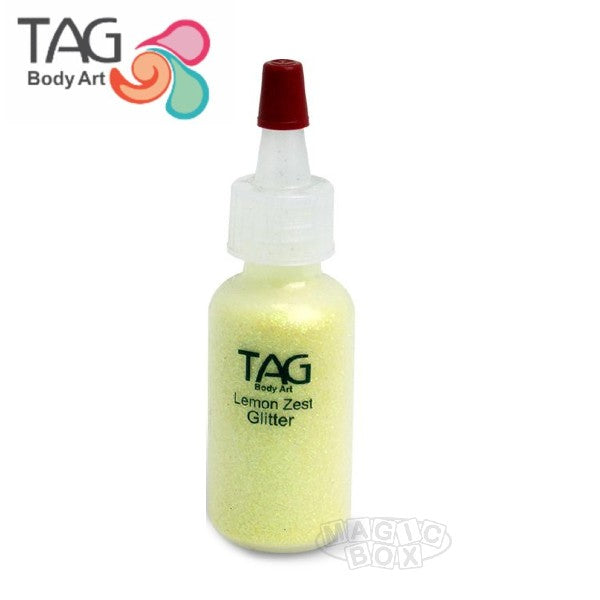 Tag Glitter, 15ml Crystal Lemon Zest